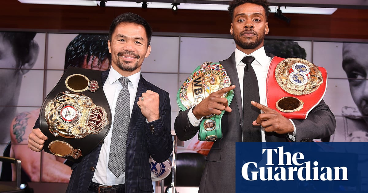 Errol Spence Jr withdraws from Manny Pacquiao fight with torn retina
