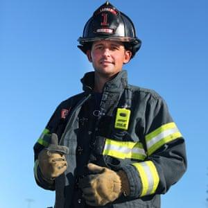 Matt Parziale's father, Vic, was also a fireman.