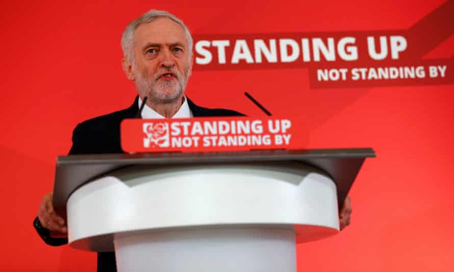 Jeremy Corbyn called for action on tax havens at a speech in Harlow.