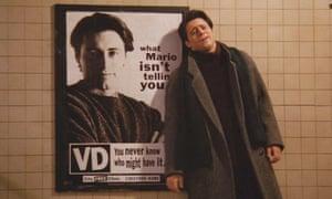 Matt Leblanc as Joey in the first season of Friends.