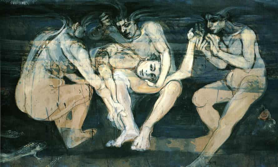 Under the Sea – Three Fates, 1989, by Jacqueline Morreau