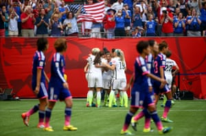 Tobin Heath has surely killed the game with that strike, USA's fifth ...