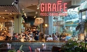 A Giraffe restaurant in London