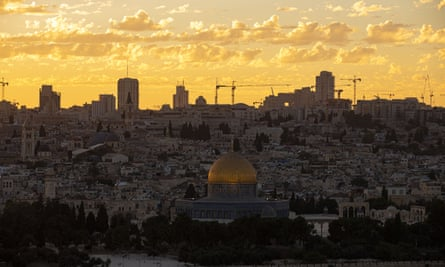 A view of Jerusalem: the Israel/UAE agreement 'threatens the status of Jerusalem's holy sites'.