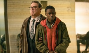 John Goodman and Ashton Sanders in Captive State