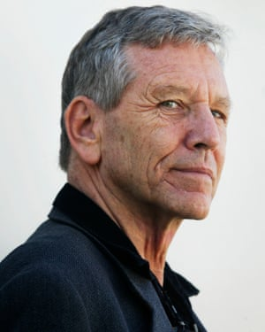 Israeli writer Amos Oz. The author's political views have led other Israelis to accuse him of being a traitor.
