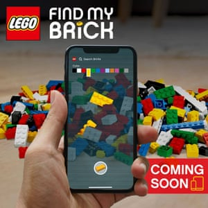 "Lego's ""Find my brick"" April Fool joke"