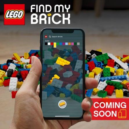 "Lego's ""Find my brick"" April Fool joke"