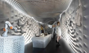 Multi-sensory: the world's first 3D printed shop.