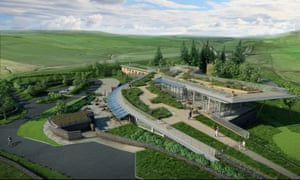 YHA The Sill at Hadrian's Wall - artists impression