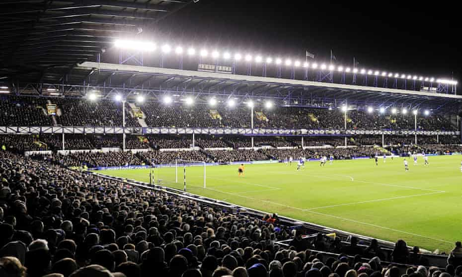 A packed Goodison Park for Everton's game against Chelsea in mid-February. How many fans will come back?