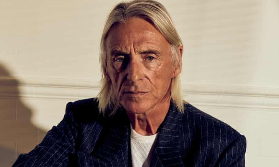 Shout to the top ... Paul Weller.