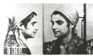 Pictures taken by the SS for their files of a Roma or Sinti girl imprisoned in Auschwitz