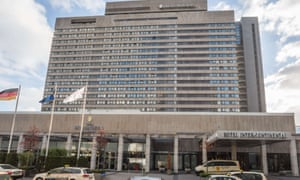 The Hotel Intercontinental in Frankfurt