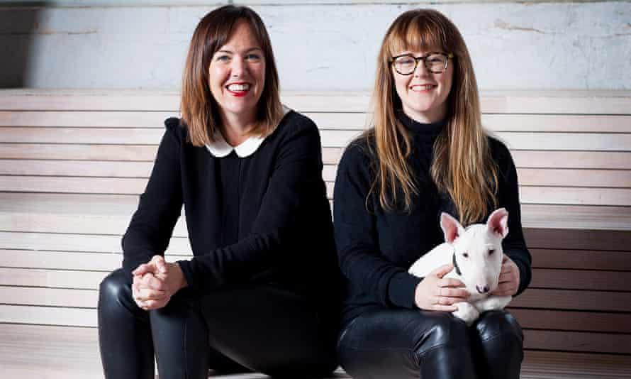 Digital Mums founders Nikki Cochrane and Kathryn Tyler.