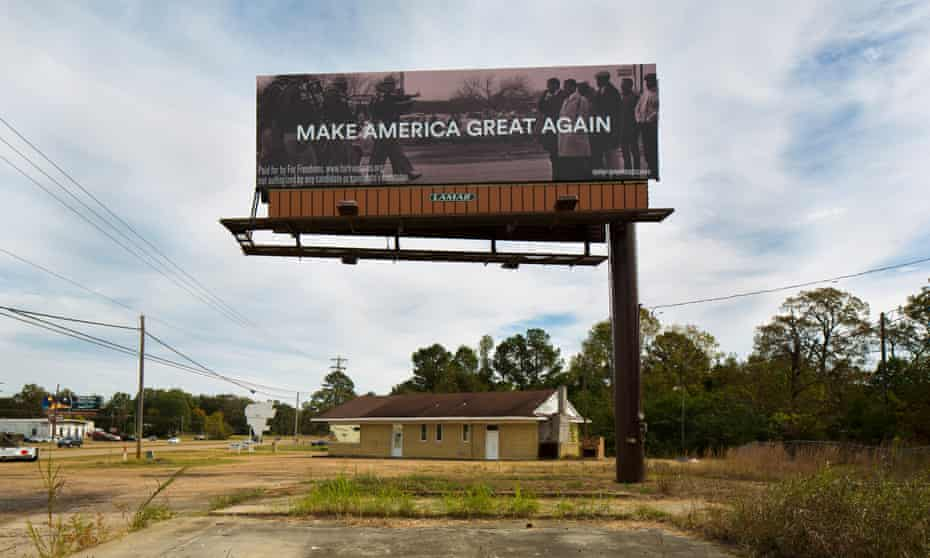 Make America Great Again with Spider Martin, Pearl, MS, 2016.