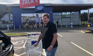 Shopper Phil Miller at Jack's in Chatteris
