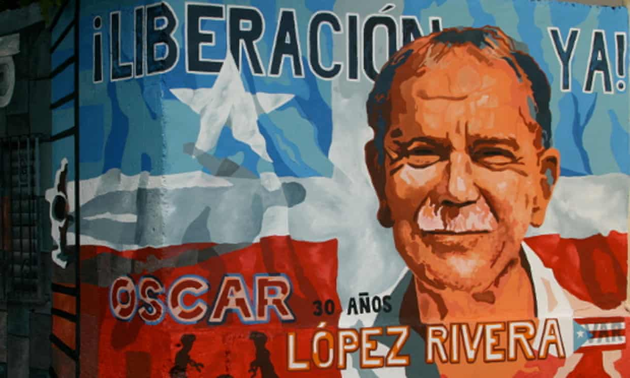 A mural dedicated to Oscar López Rivera in Puerto Rico. (Photo: Public domain)