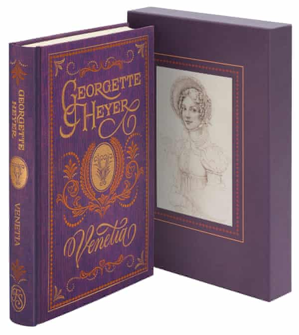 The new Folio Society edition of Venetia by Georgette Heyer
