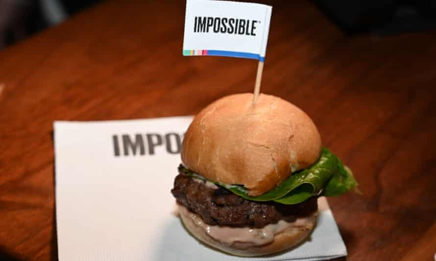 The Impossible burger is now being served at restaurants across the country.