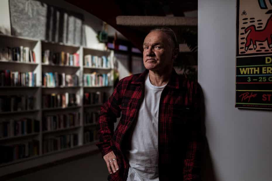 Tony Birch at his home in Carlton, Victoria.