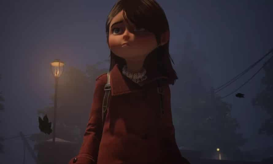 Looking a lot like Coraline … Gylt.