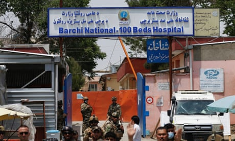 Gunmen attack Kabul hospital where MSF runs clinic