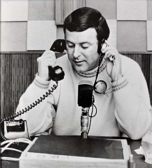 Creating his own world … Wogan working at RTE in Ireland in the 1960s.