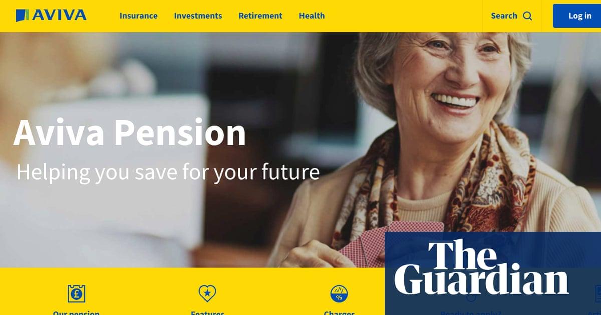 Widow's shock as Aviva 'hidden' pension loses £7,919 in two months