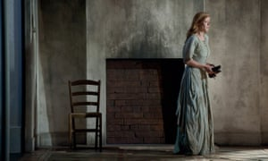 Barbara Hannigan in the 2012 Royal Opera House staging of Written on Skin.