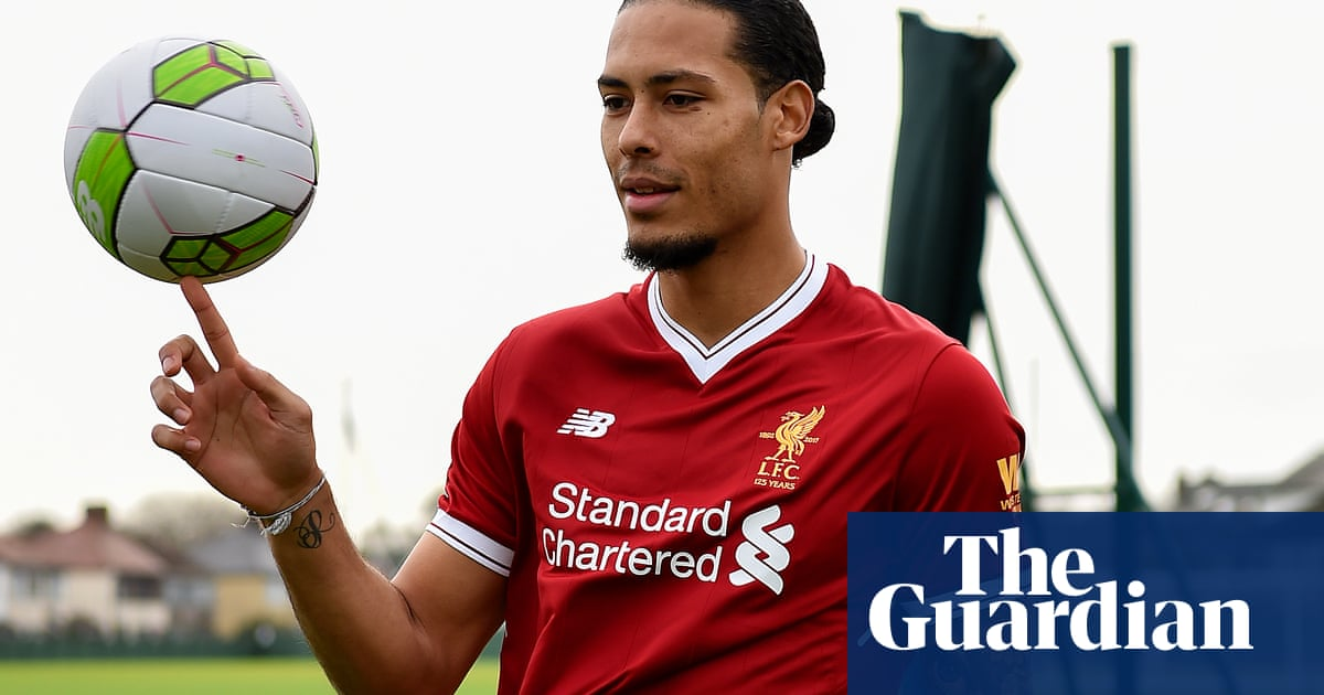 Virgil van Dijk completes £75m Liverpool move   I can t do anything about  the price  19867833d