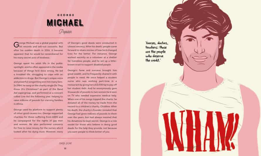 George Michael in The Good Guys by Rob Kemp