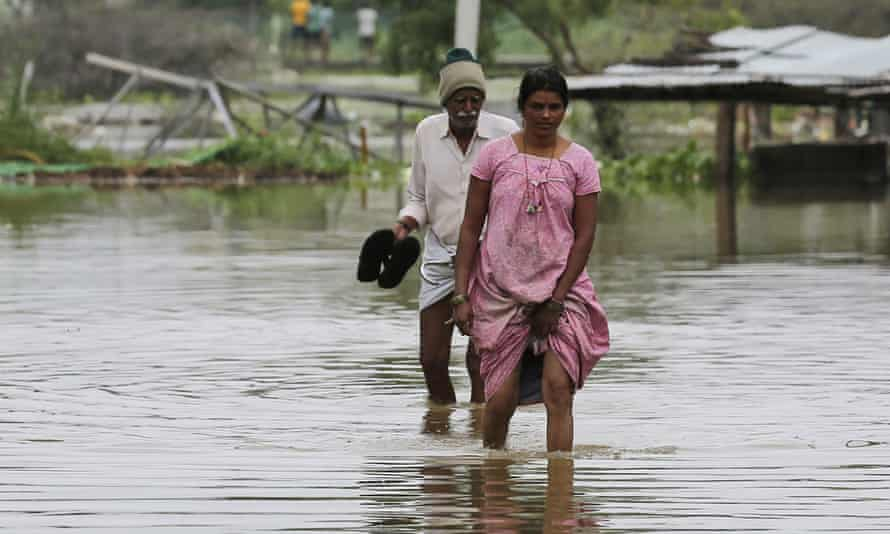 Flooding in Hyderabad, India