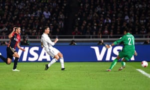 Ronaldo puts Real in front.