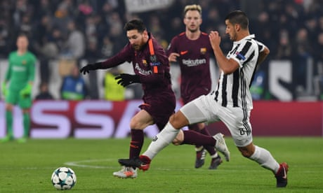 Barcelona's draw with Juventus clinches last-16 place as Messi starts on bench