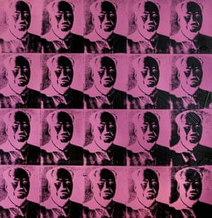 Andy Warhol's Fuchsia Maos from 1979.