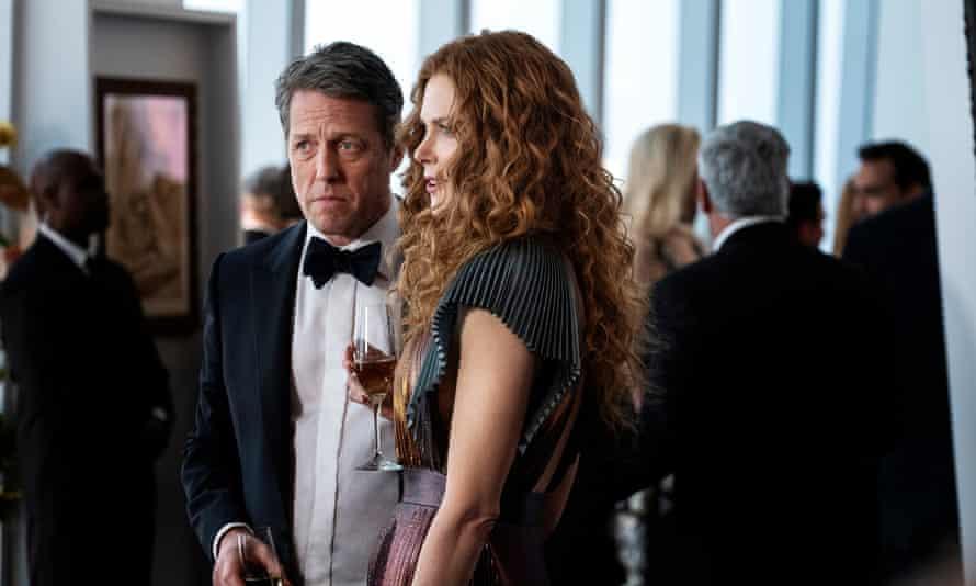 Too good to be true? Hugh Grant and Nicole Kidman in The Undoing.