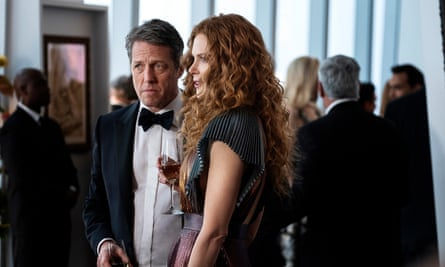 Too good to be true? Hugh Grant and Nicole Kidman in The Undoing.