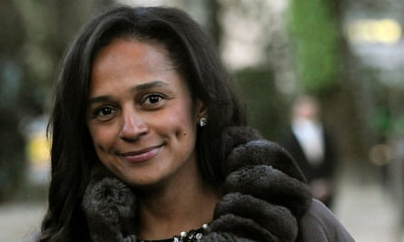 Isabel dos Santos in 2015
