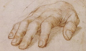Hands off … Hans Holbein the Younger's Study of Right Hand of Erasmus of Rotterdam.