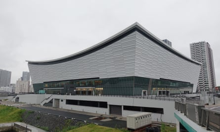 The Tokyo 2020 venue Ariake Arena in Tokyo, Japan. The Games have been put back a year to 2021 because of the coronavirus pandemic.