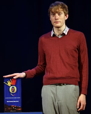 Acaster makes the finals of the Foster's Edinburgh Comedy Awards, August 2013.