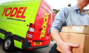 Damaged delivery from Yodel.