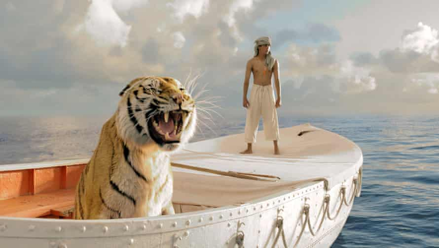 A scene from Ang Lee's film adaptation of Life of Pi.