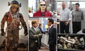 Golden chances: The Martian, Carol, Spotlight, Mad Max and The Big Short