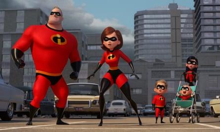 Sugar rush of excitement … Incredibles 2.