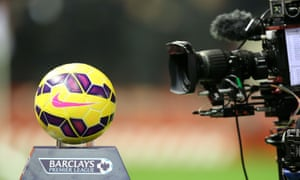 Soccer - TV Rights<br>File photo dated 10-02-2015 of A TV camera films a close up of a Premier League football. PRESS ASSOCIATION Photo. Issue date: Wednesday February 11, 2015. The Premier League has sold its domestic television rights for a staggering  5.136billion across just three years. See PA story SOCCER Premier League Money. Photo credit should read Peter Byrne/PA Wire.