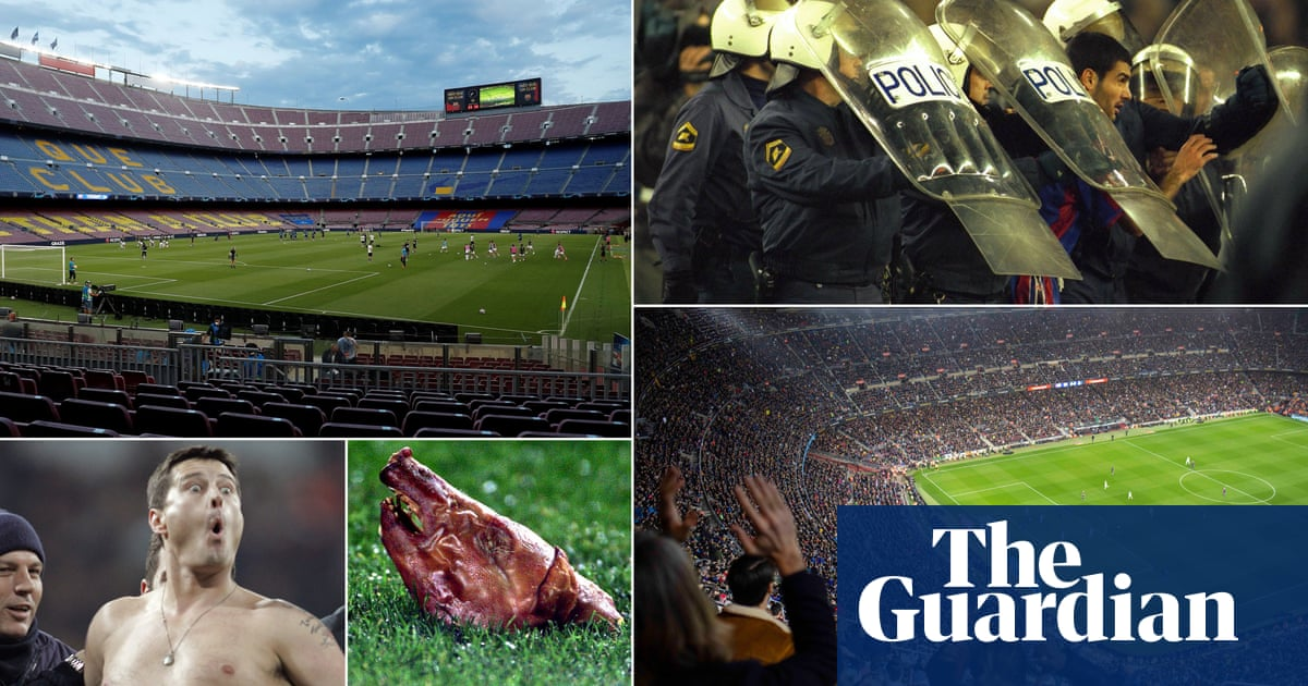 Barcelona v Madrid: a silent clásico for teams with little to shout about