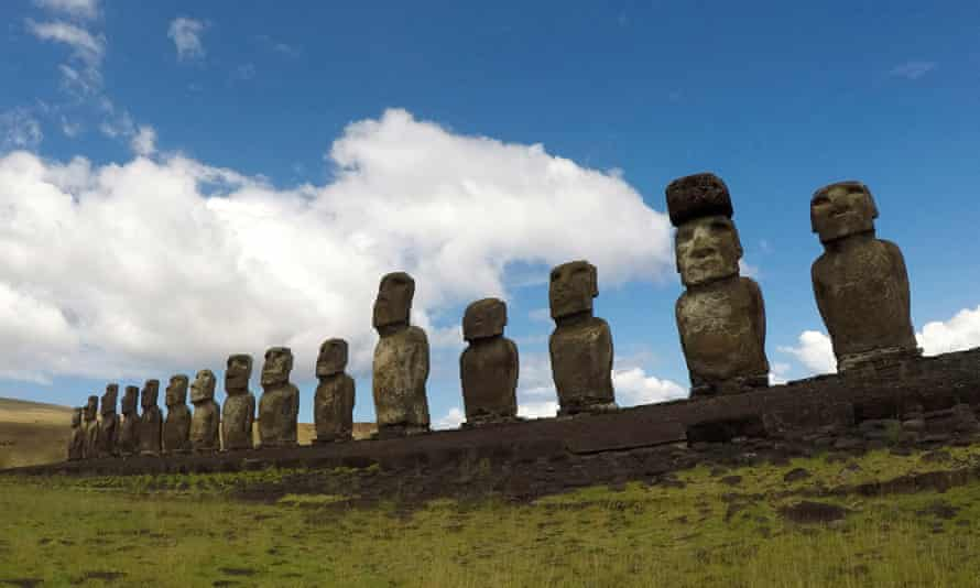 The new findings dismantled the belief that Rapa Nui – better known as Easter Island – was the first place where the two cultures came face-to-face.