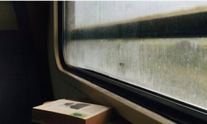 book train window